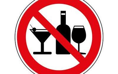 Alkohol nach einer Weisheitszahn-OP