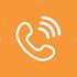 Telefon icons 70 orange